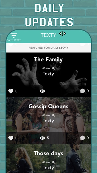 TEXTY: Chat Stories Text Story screenshot 5