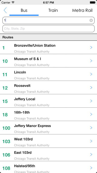 Transit Tracker - Chicago-4