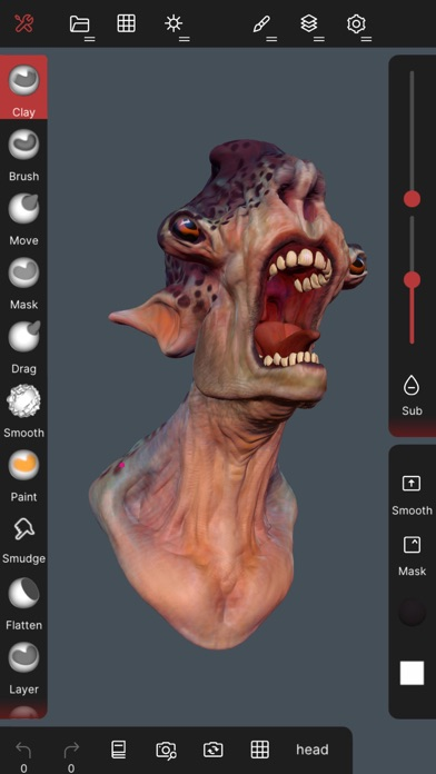 Скриншот №2 к Nomad Sculpt