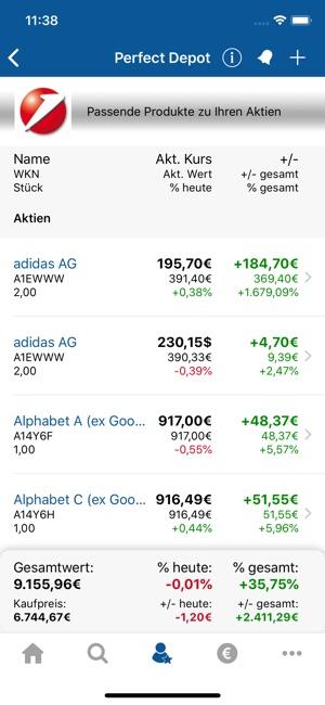 Börse Aktien Finanzennet Im App Store