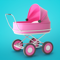 App Icon for Baby & Mom Idle Life Simulator App in United States IOS App Store