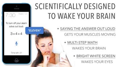 Math Alarm Clock - Wake up! Скриншоты3