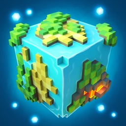 Planet of Cubes Survival Craft