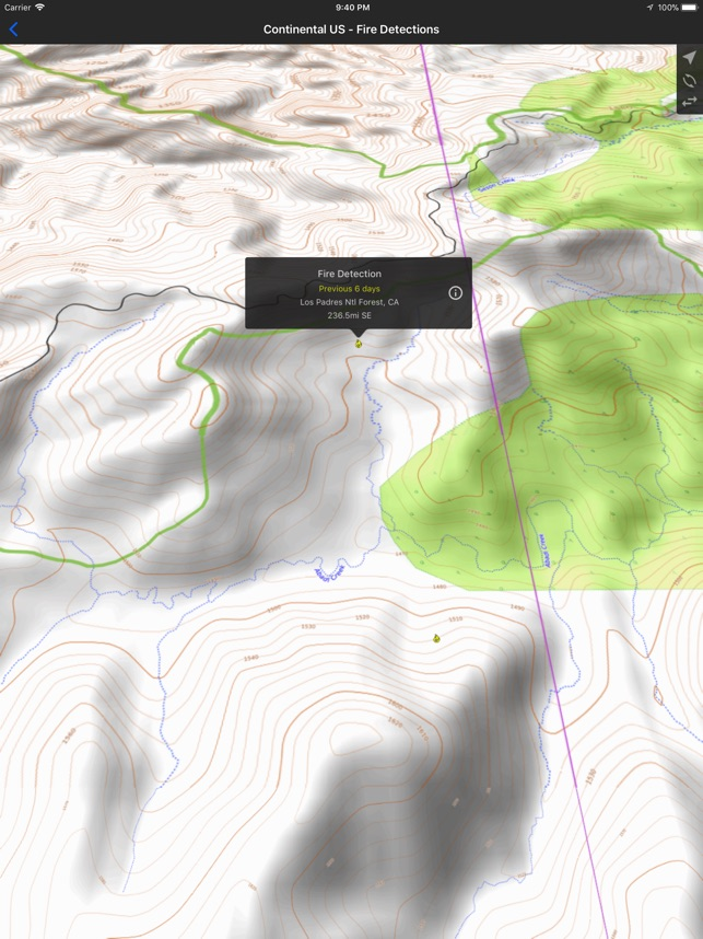 Fires Wildfire Maps and Info