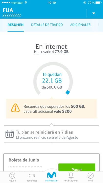 Mi Movistar. screenshot-4