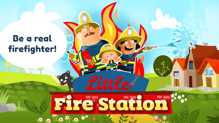 Little Fire Station For Kids screenshot-0