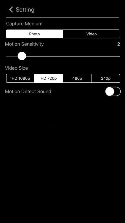 Motion Detector Camera screenshot-3