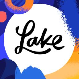 Ícone do app Lake: livros de colorir