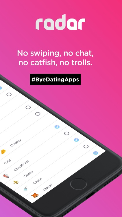 Radar - Stop Online Dating screenshot-6