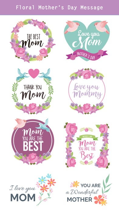 All about Mother's Day Sticker screenshot 4