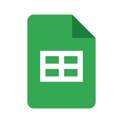 Google Sheets free software for iPhone and iPad