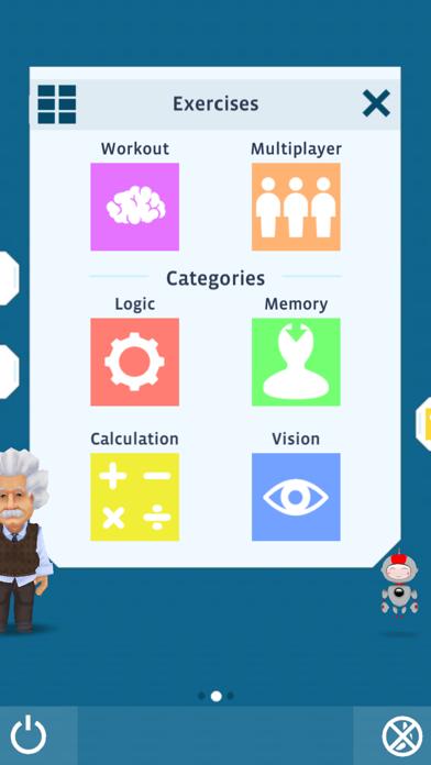 Einstein™ Brain Training HD screenshot 2