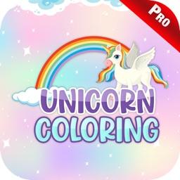Unicorn Coloring Games Kids