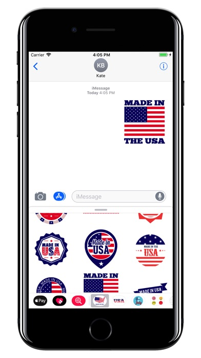 made in usa 4th of july pack app report on mobile action app store optimization and app. Black Bedroom Furniture Sets. Home Design Ideas