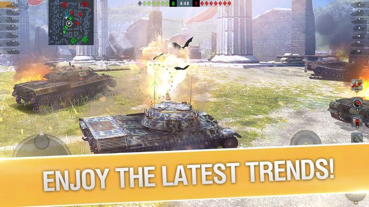World of Tanks Blitz PVP MMO screenshot-3