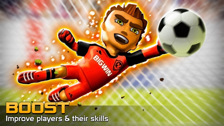 Big Win Soccer: World Football screenshot-4