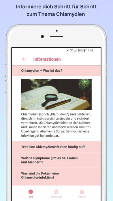 StartChla - ChlamydienScreenshot von 3