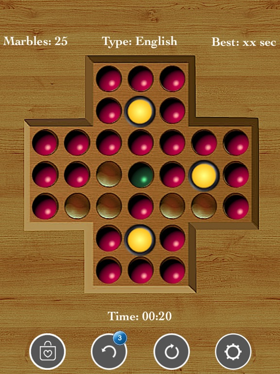 Brainvita Peg Solitaire Game screenshot 7