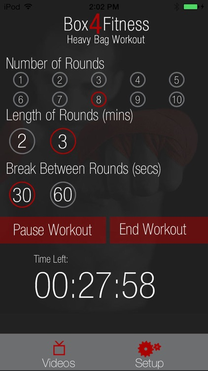 HeavyBag Workout Box 4 Fitness