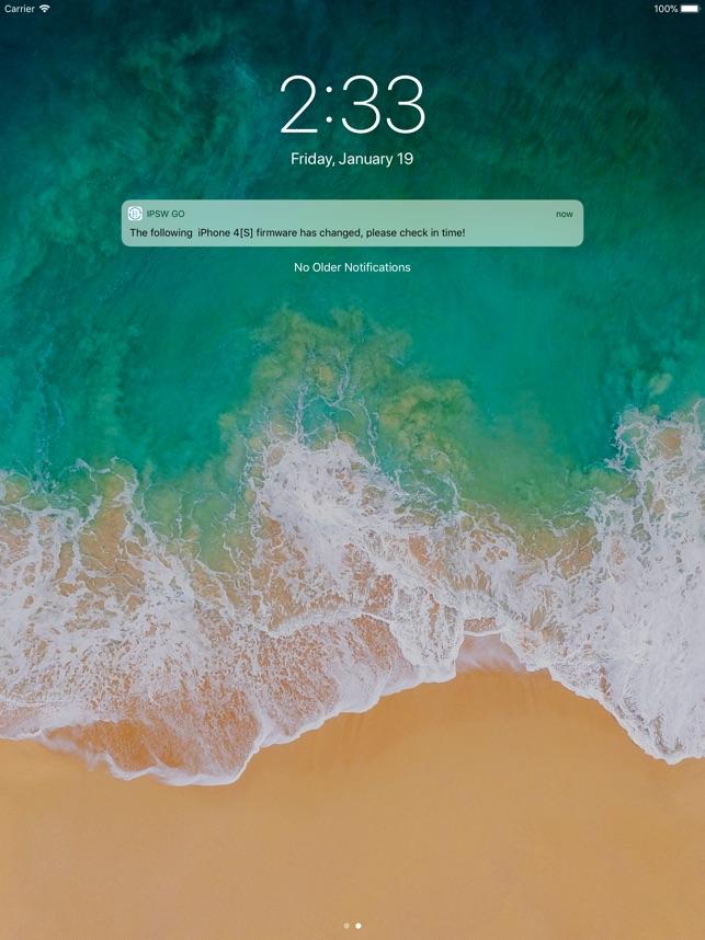 IPSW Go Screenshot