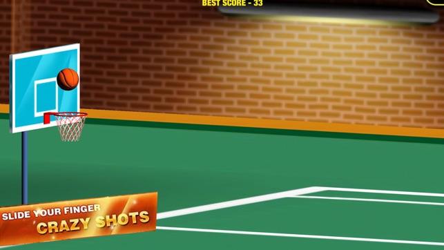 Basketball Flick Finger Legend Screenshot
