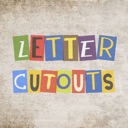 Letter Cutout Stickers