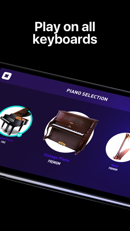 Piano - simply game keyboard screenshot-4