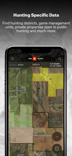 OnX Hunt Fishing Hunting App On The App Store - Onx map app