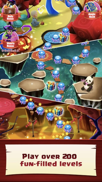 Screenshot 2 WitchLand-Magic Bubble Shooter