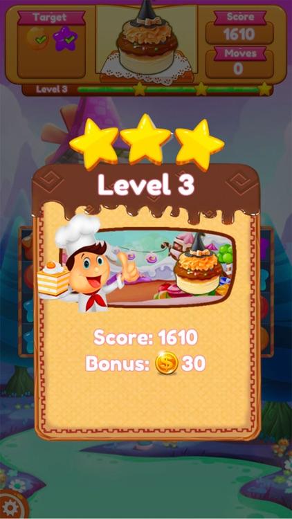 Sweet Candy Blast Fruit puzzle screenshot-3