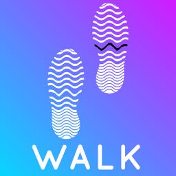 Ícone do app Walkster: Walk & Track Steps