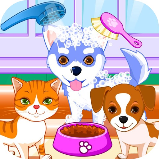 Puppy games & kitty game salon