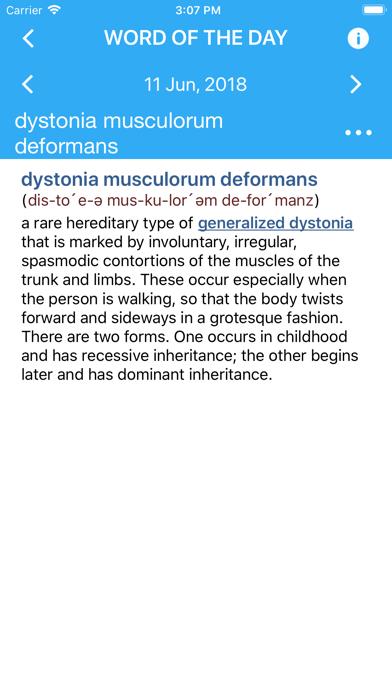 Dorlands Medical Dictionary review screenshots