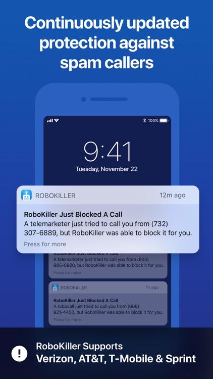 RoboKiller - Stop Spam Calls screenshot-3