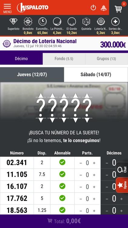Hispaloto: Loterías y Apuestas screenshot-4