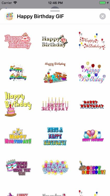 Happy Birthday GIF screenshot-5