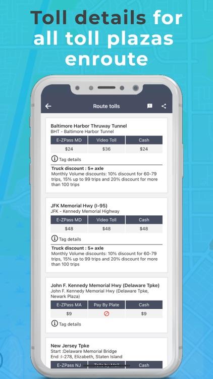 Toll & Gas Calculator TollGuru screenshot-8