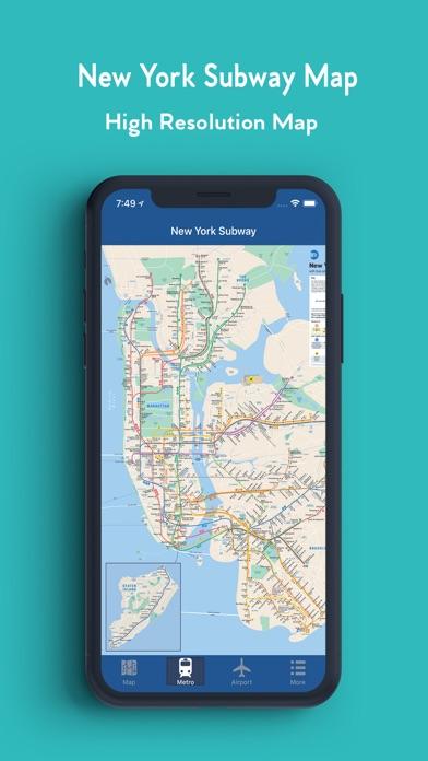 Offline New York Subway Map.New York Offline Map App Price Drops