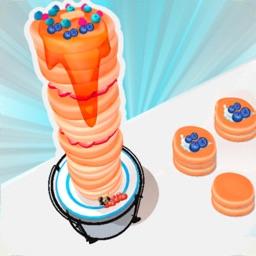 Pancake Run 3D Game