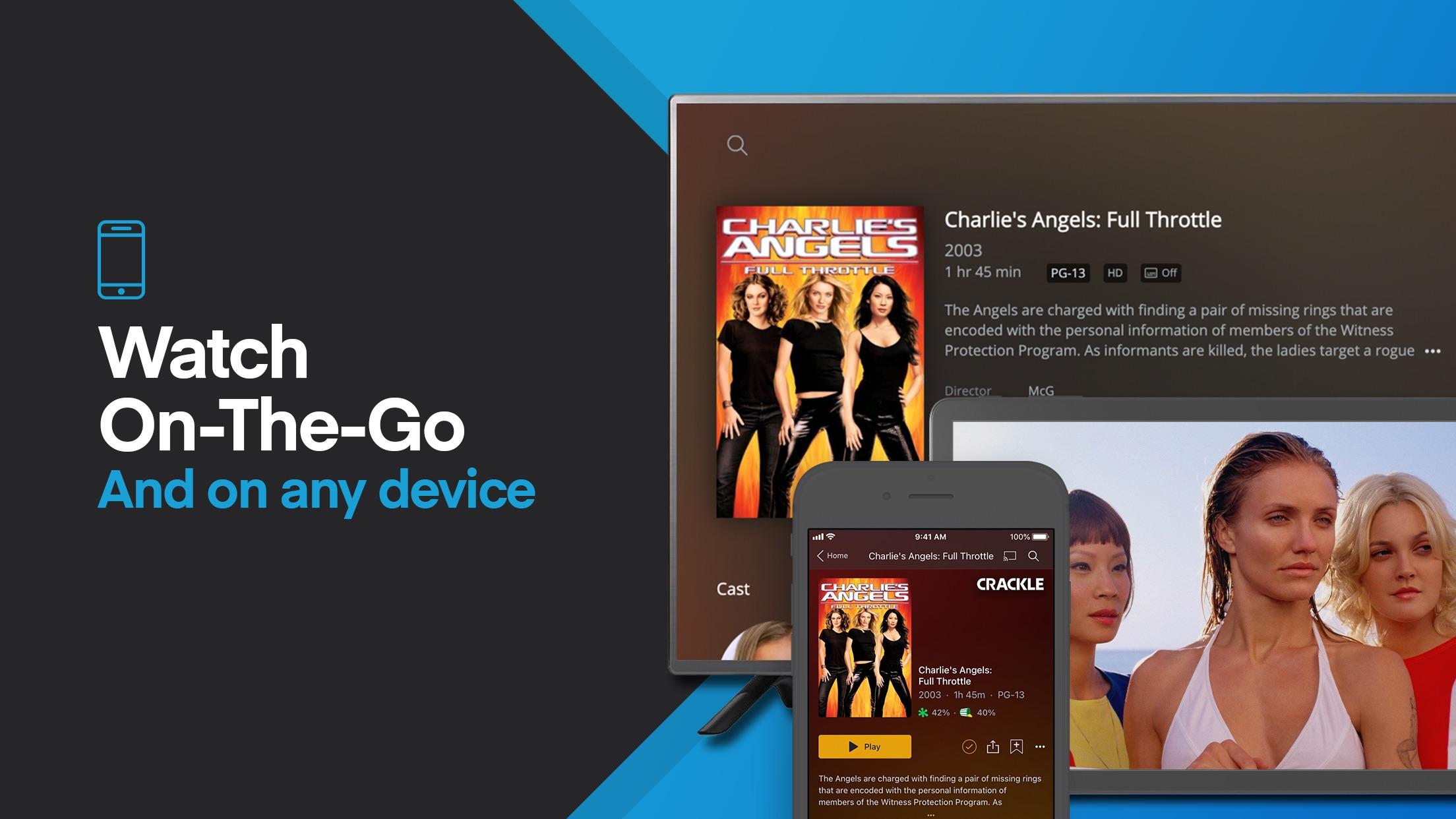 Screenshot do app Plex: Movies, TV, Music & More