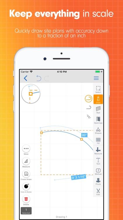 ArcSite: Floor Plans and CAD screenshot-4