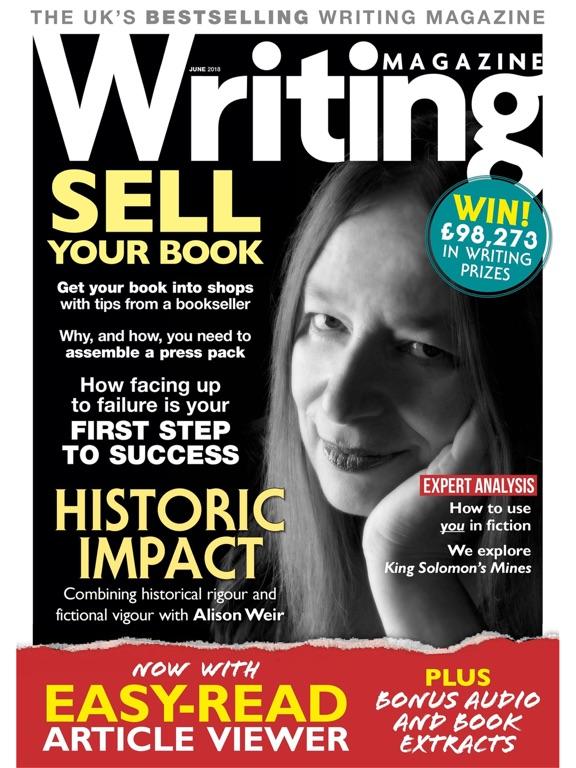 Writing Magazine screenshot