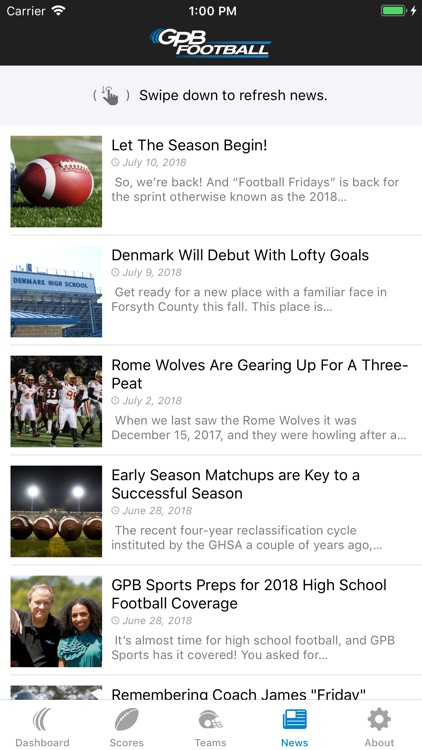 GPB Sports: Football screenshot-4