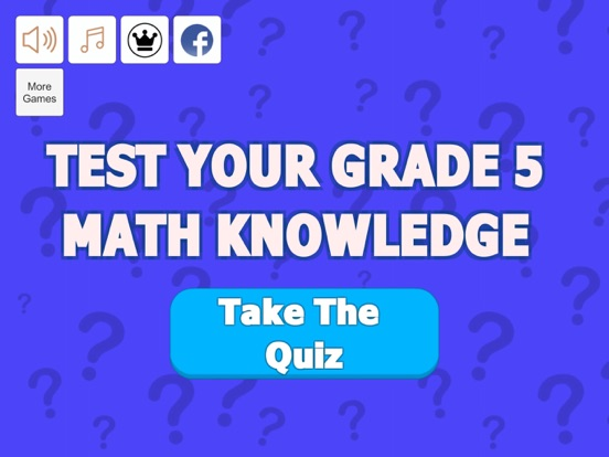 Grade 5 Math Trivia screenshot 5