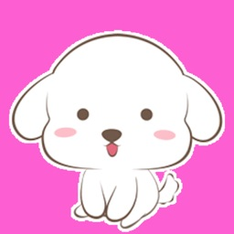 Maltese Dogs Animated Stickers