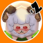 Counting sheep 3D icon