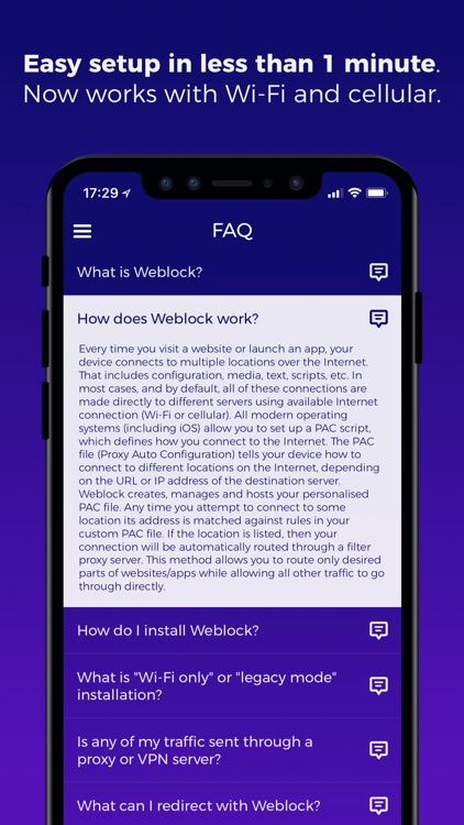 Weblock: adblock & proxy screenshot-4