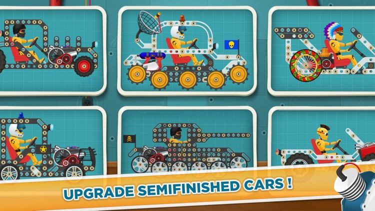 Racing Car Game for Kids 3 - 6 screenshot-4
