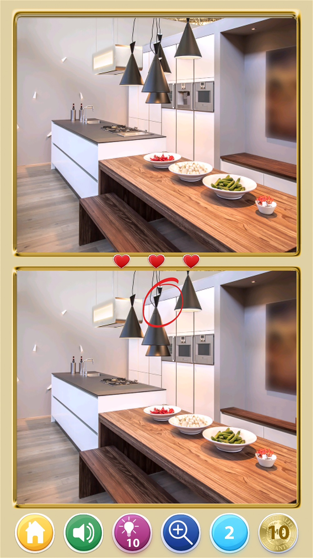 Find The Difference! Rooms HD hack tool