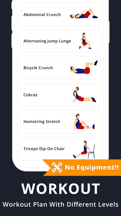 Home Workouts - Lose weight screenshot-3